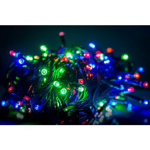 KL KL LED Christmas Lights RS-111 7m. 100LED Multi Colour