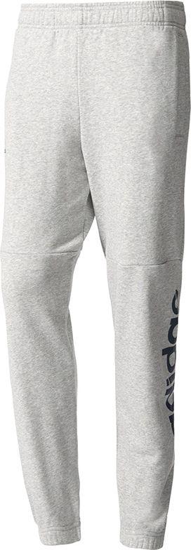 Adidas Spodnie ESS Lin PN FT szary r. XXL (BQ9092) BQ9092