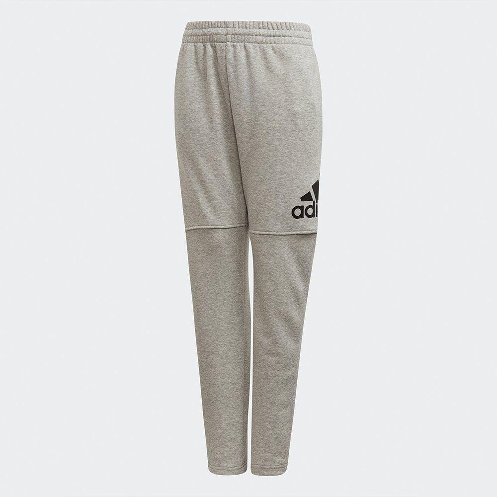 Adidas Spodnie juniorskie YB Logo Pant szare r. 128 cm (CF6540) CF6540