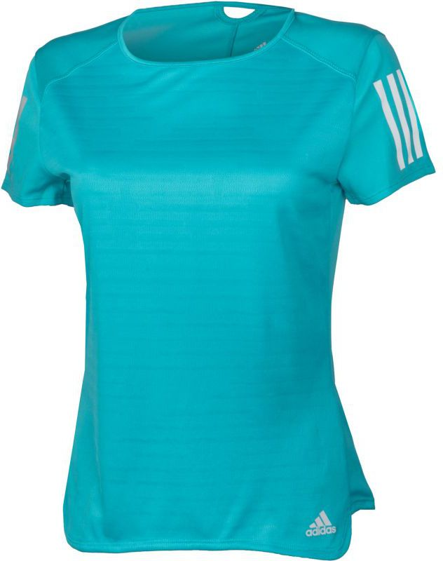 Adidas Koszulka damska Response Short Sleeve Tee W niebieska r. XS (BP7457) BP7457*XS