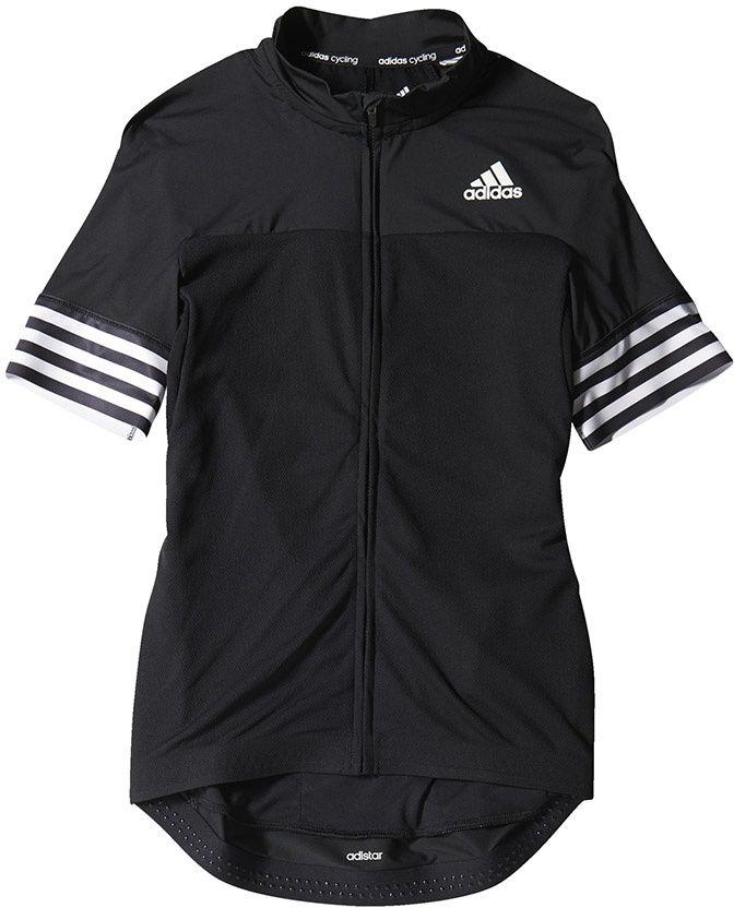Adidas Koszulka rowerowa Adistar SS Jersey M czarna r. L (S05518) S05518