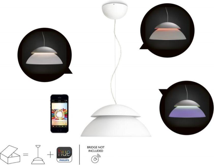 Philips Hue Beyond LED Pendant Light white