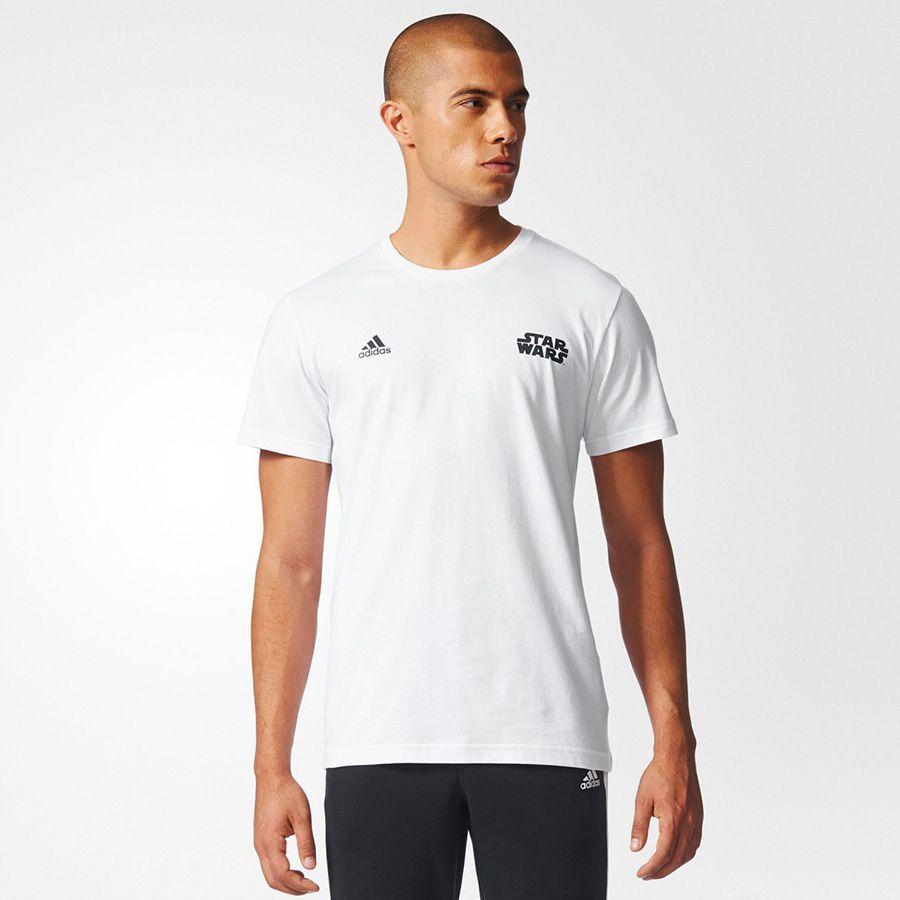 Adidas Koszulka meska Storm Trooper biala r. M (CG1572) CG1572