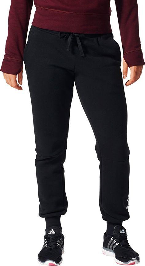 Adidas Spodnie damskie ESS LIN FL PT czarne r. M (BK7065) BK7065