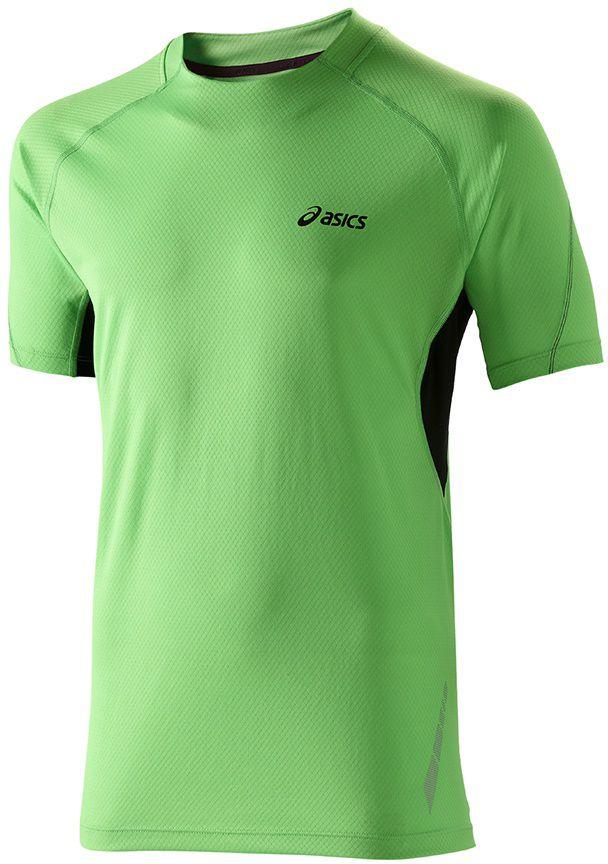 Asics Koszulka meska Pace SS Top zielona r. M (110507 0498) 110507 0498