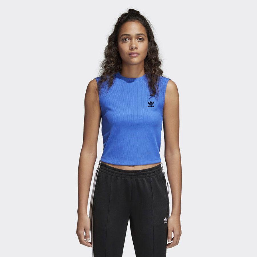 Adidas Koszulka damska FASHION LEAGUE niebieska r. 36 (CE3714) CE3714