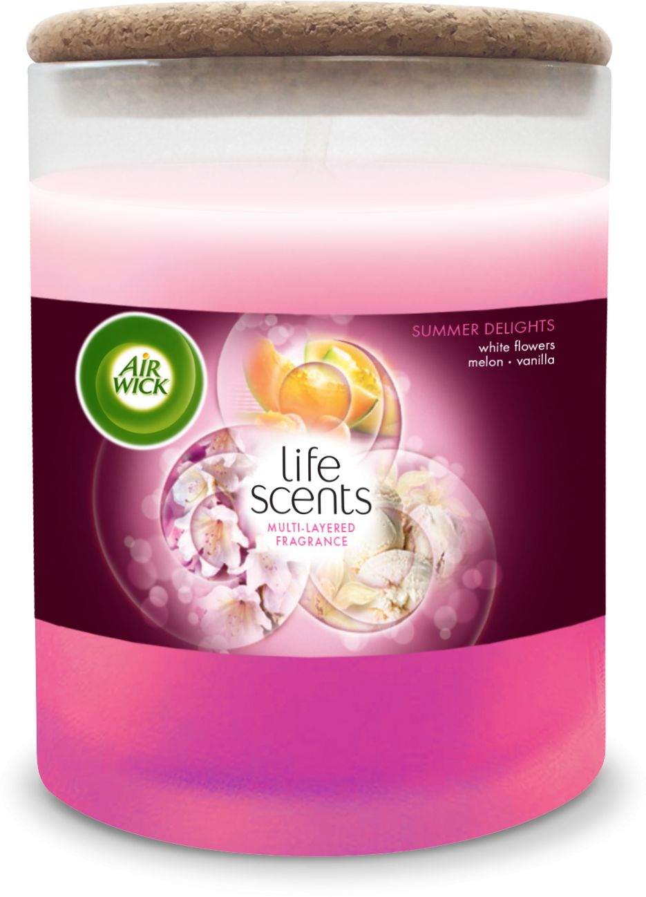 Air Wick Air Wick swieca Life Scents Owocowe Slodkosci/ Summer Delight 5900627071597