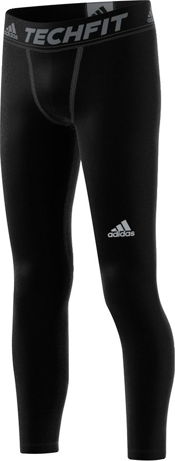 Adidas Legginsy  juniorskie Tech Fit Tight czarne r. 164 (S93067) S93067