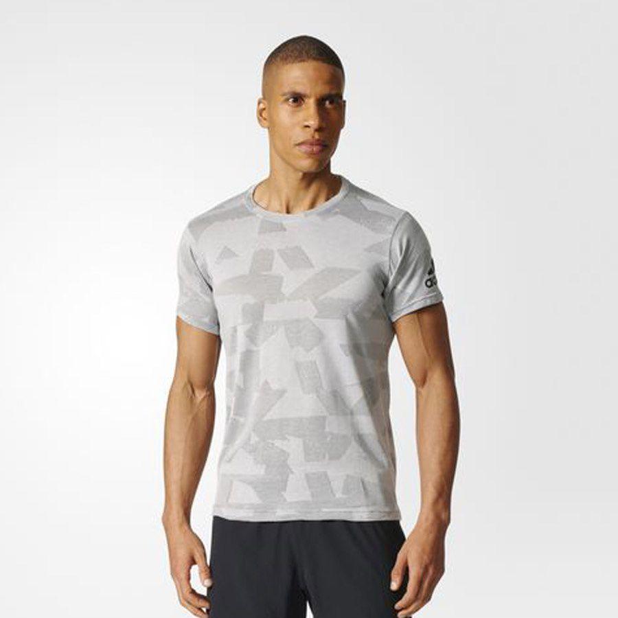 Adidas Koszulka meska Freelift Elite szara r. M (BQ0727) BQ0727