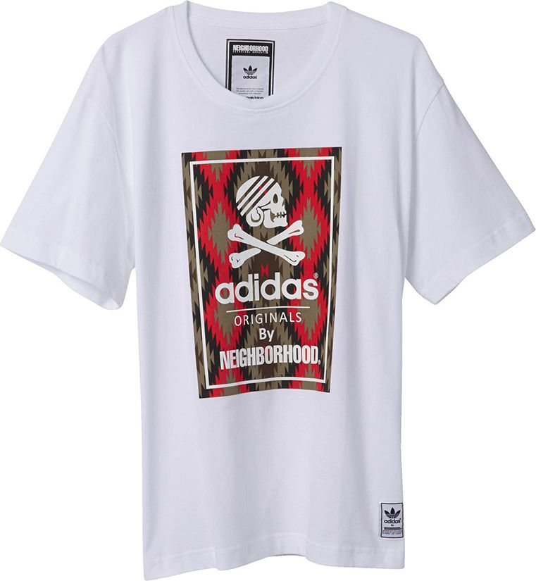 Adidas Koszulka Neighborhood biala r. S (M64816) M64816
