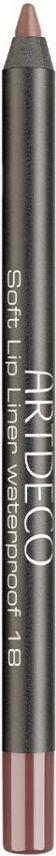 Artdeco Soft Lip Liner Waterproof wodoodporna konturowka do ust 18 1,2g 4019674172186 acu zīmulis