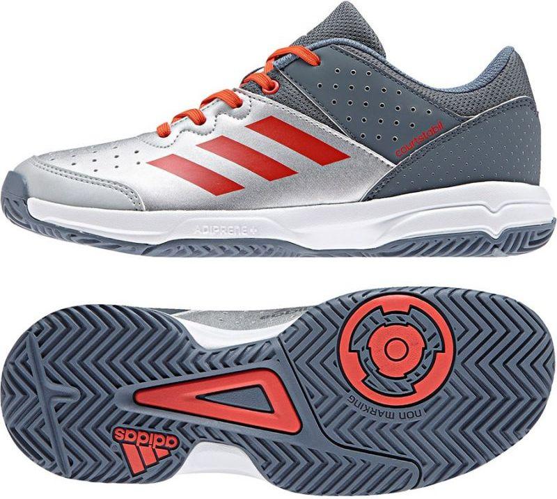 Adidas Buty dzieciece Court Stabil JR biale r. 38 (BB6345) BB6345