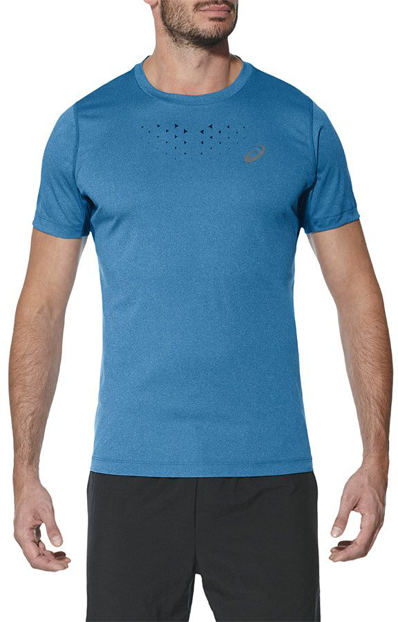 Asics Koszulka meska Stride SS Top niebieska r. S (141198 8155) 141198 8155