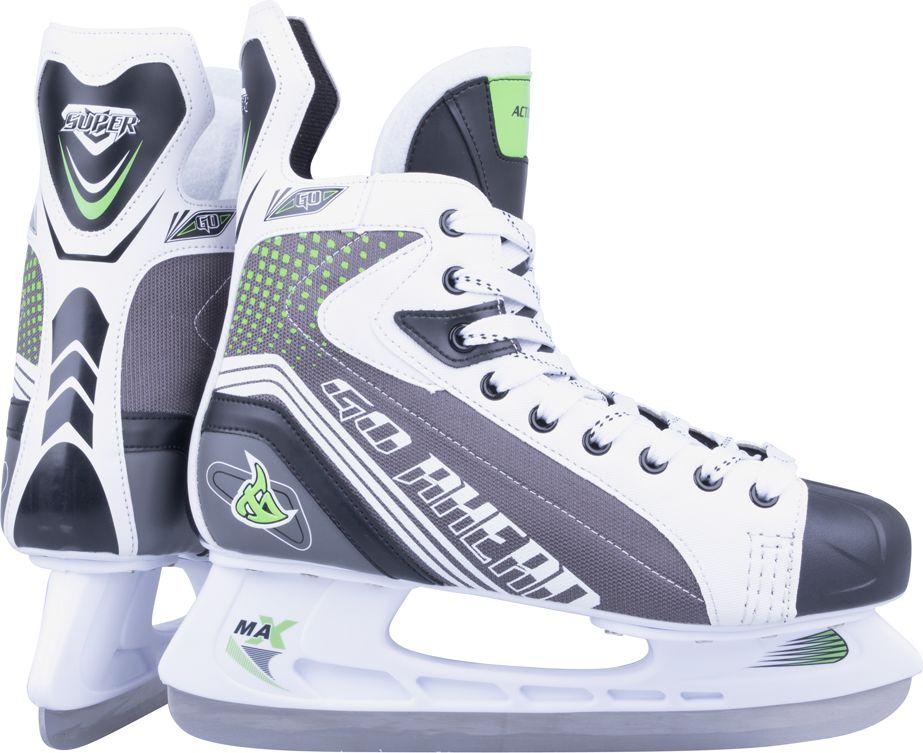 Action Lyzwy hokejowe Hiel Rozmiar 41 13307-41 Slidošanas un hokeja piederumi