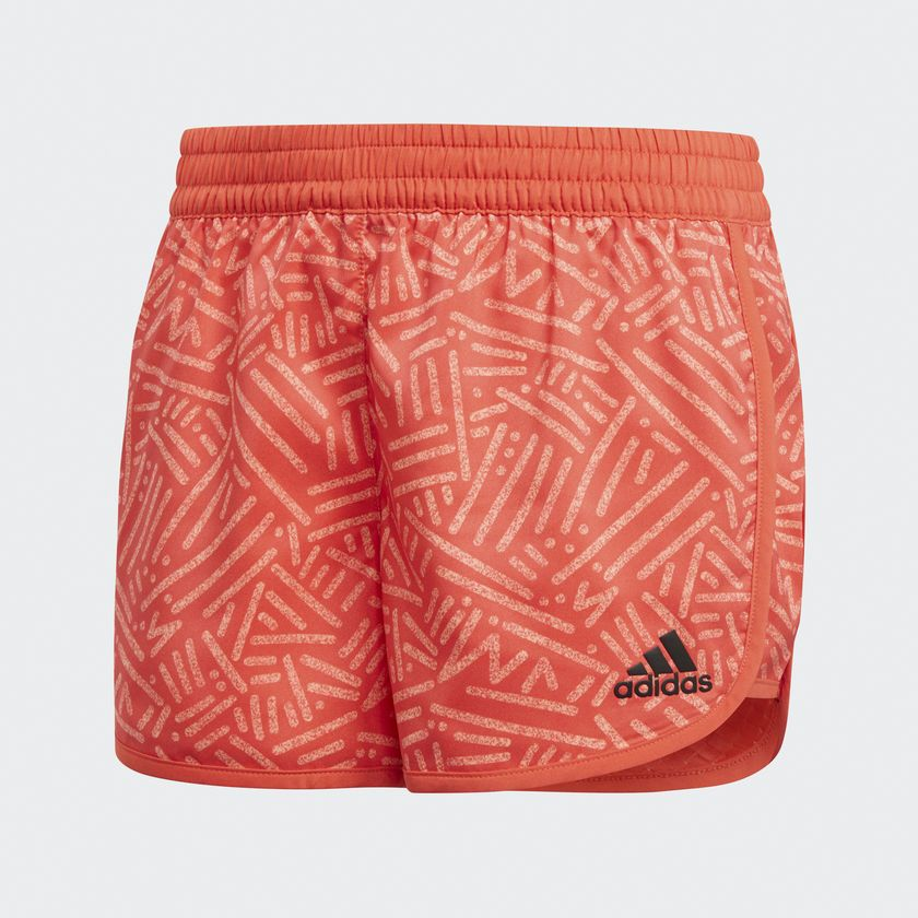 Adidas SpodenkiYG TR MAR Short czerwony 158 cm (CF7186) CF7186