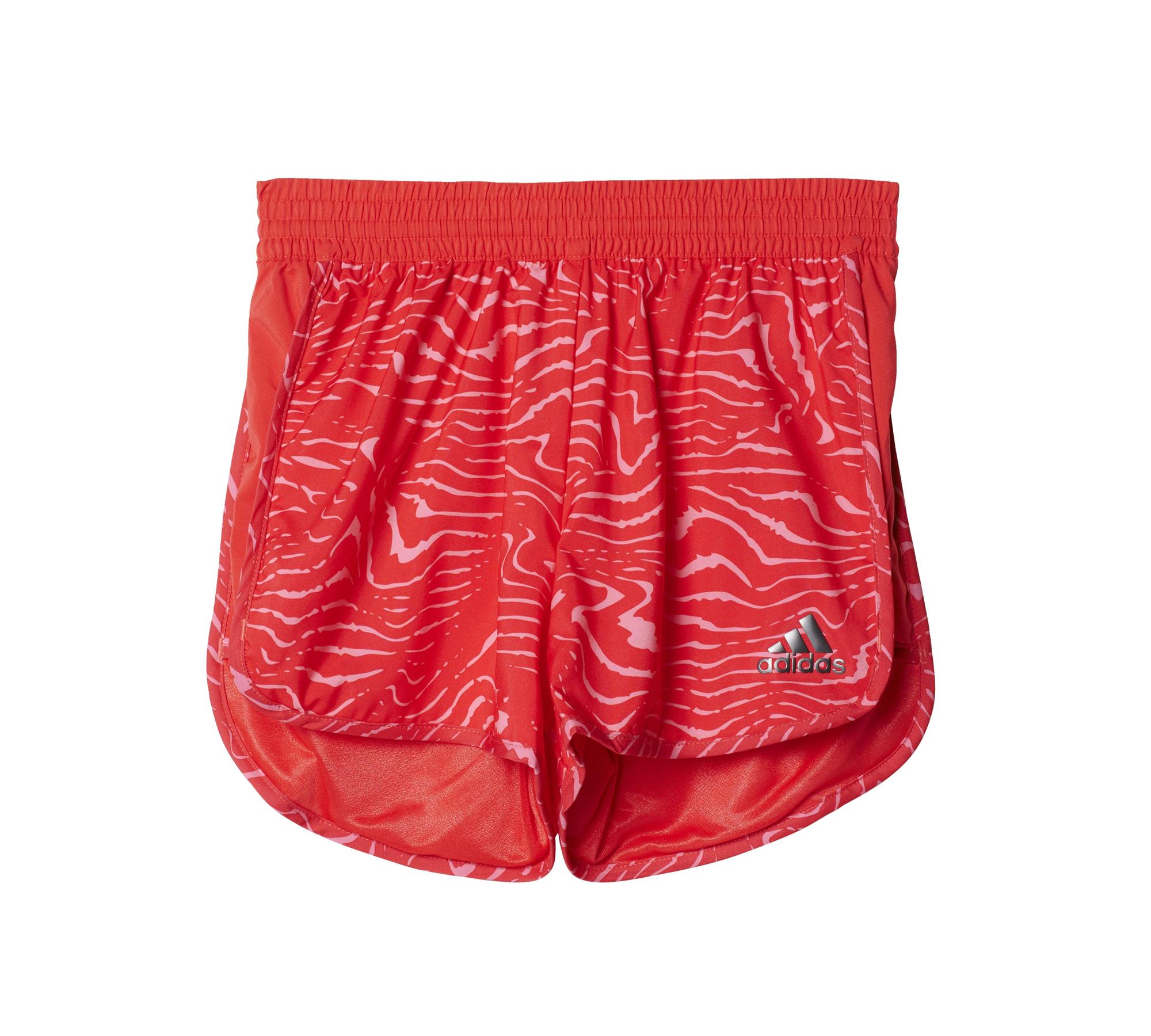 Adidas Spodenki Training Marathon Short rozowe r. 128 cm (BK3859) BK3859