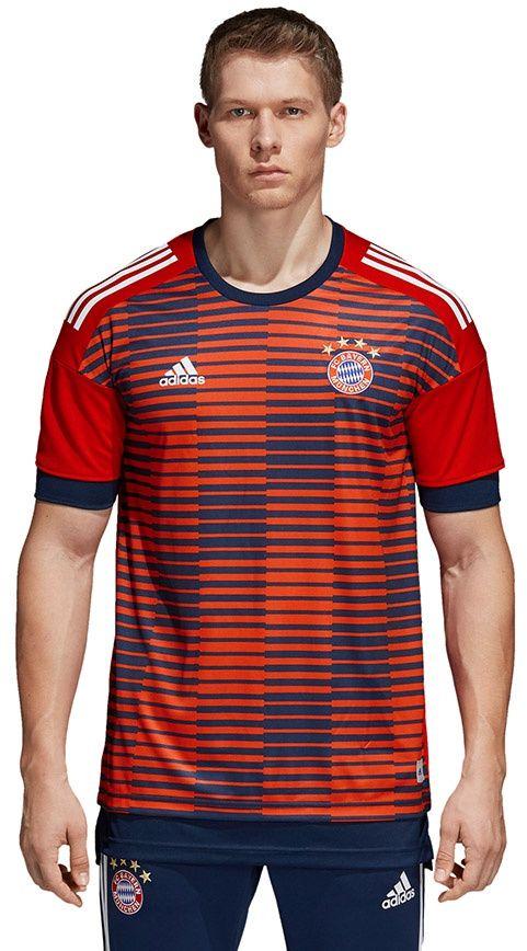 Adidas Koszulka pilkarska FCB H Preshi czerwona r. XXL (CF1580) CF1580