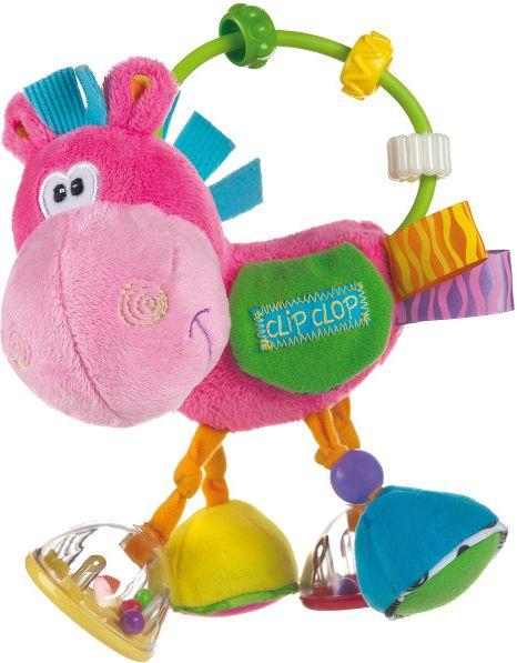 Playgro 183013 Donkey Rattle 6/48 bērnu rotaļlieta