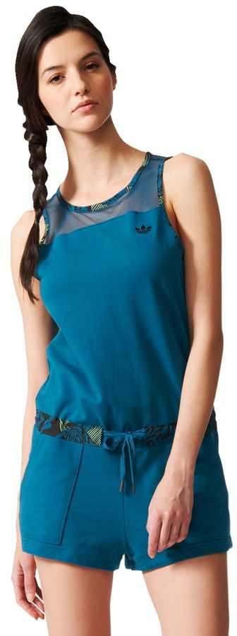 Adidas Kombinezon Hawaii Jumpsuit niebieski r. 40 (S19995) S19995