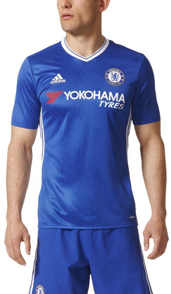 Adidas Koszulka pilkarskie Chelsea FC Home Authentic Jersey niebieska r. S (AI6651) AI6651