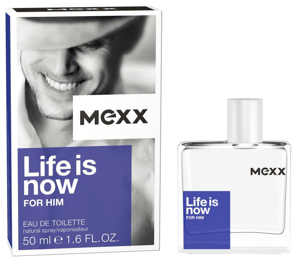 Mexx Life is Now (EDT,Man,50ml) T-MLX20500 Vīriešu Smaržas