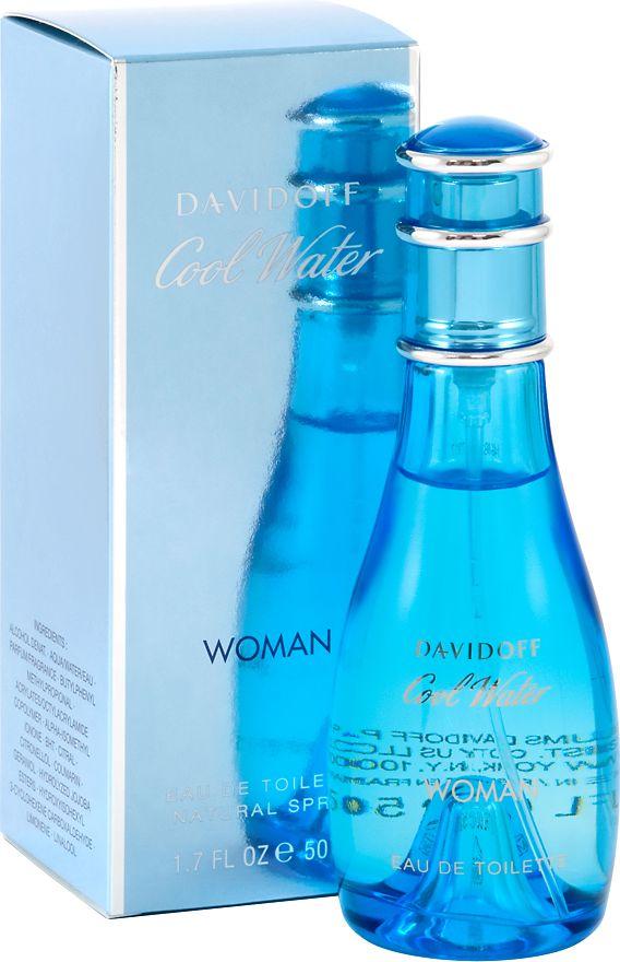 Davidoff Cool Water Woman EDT 50ml 6111769 Smaržas sievietēm