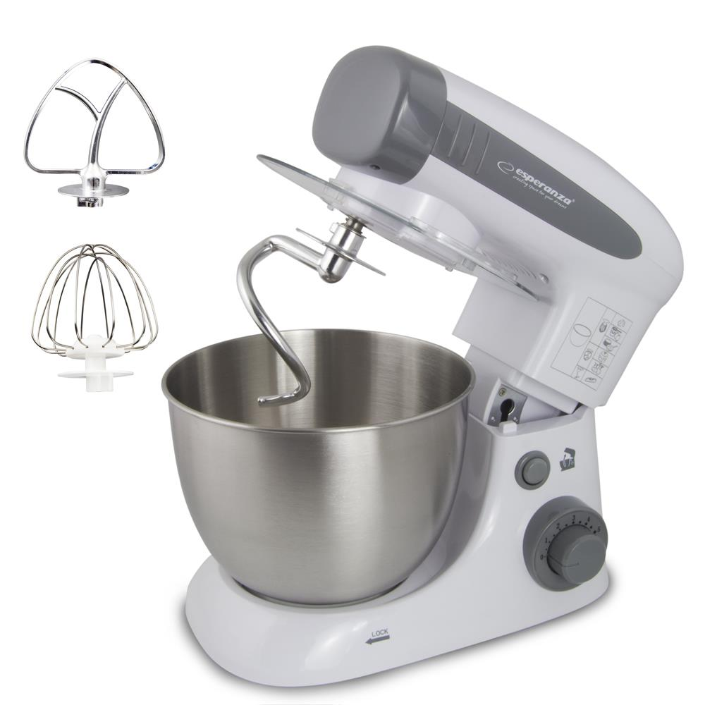 ESPERANZA EKM024 COOKING ASSISTANT - STAND MIXER 800W Virtuves kombains