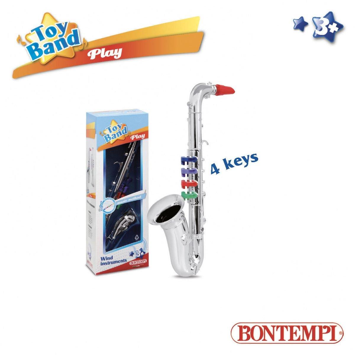 Dante Bontempi Play Silver Saxophone (041-14457) 041-14457