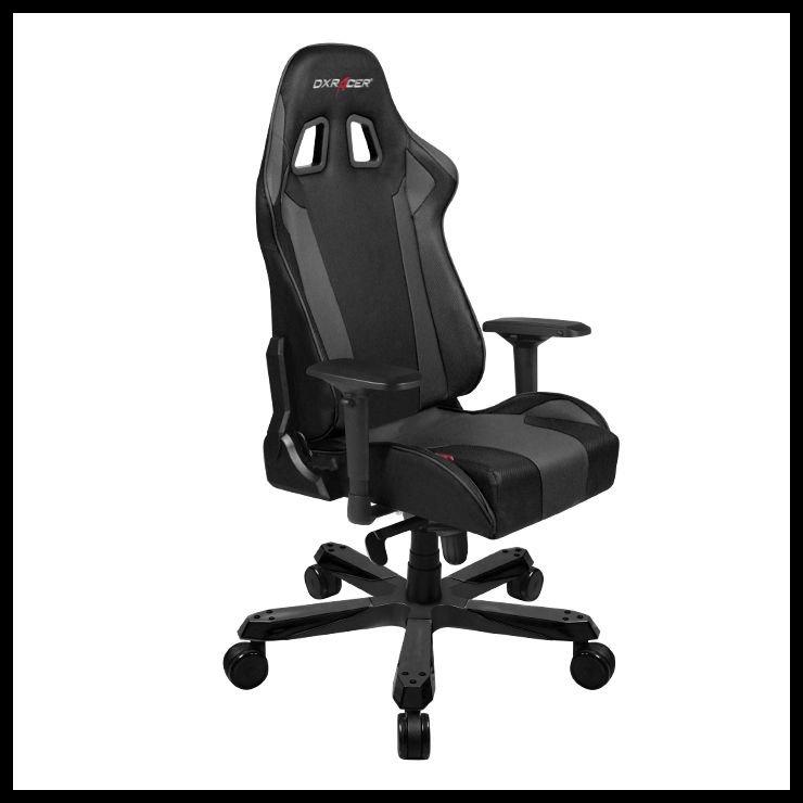 DXRacer King KS06 Gaming Chair - black datorkrēsls, spēļukrēsls