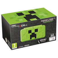 Minecraft New Nintendo 2DS XL Creeper Edition spēļu konsole