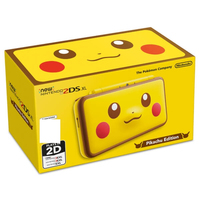 New Nintendo 2DS XL Pikachu Edition spēļu konsole