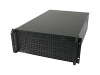 CHIEFTEC UNC-410F-B-OP RACKMOUNT EATX NO PSU BLACK 4U Datora korpuss