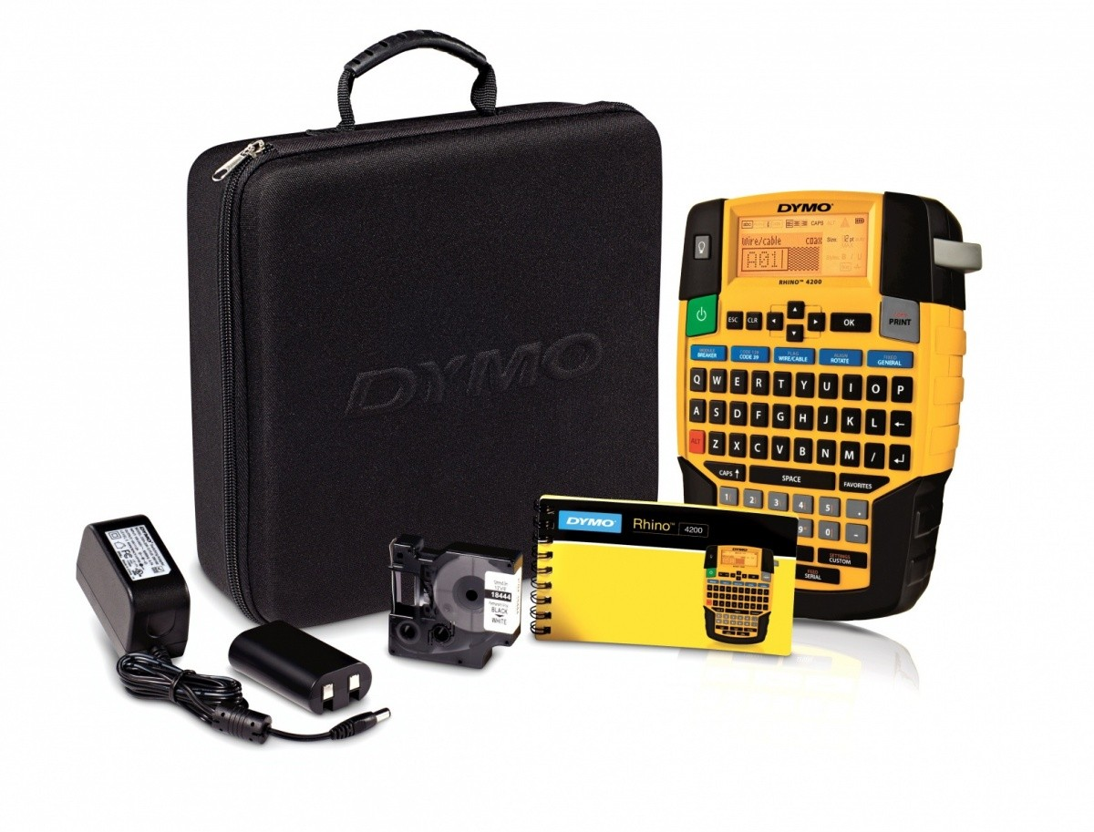 DYMO RHINO 4200 HARD     CASE KIT    185299 uzlīmju printeris