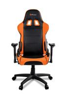 Arozzi Verona V2 black/Orange - PU Gaming Stuhl datorkrēsls, spēļukrēsls