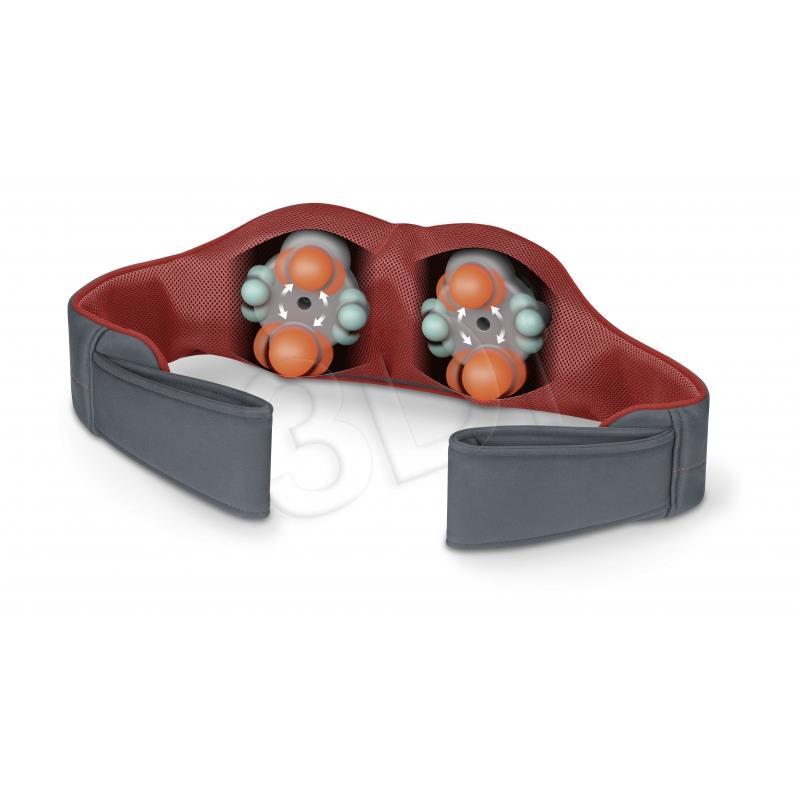 Beurer Shiatsu Massager MG 151 3D - gray / red masāžas ierīce