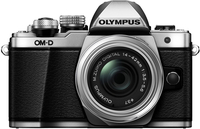 Olympus E-M10 Mark II Korpus Srebrny + EZ-M1442 IIR Srebrny Digitālā kamera