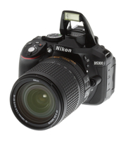 Nikon D5300 24.2Mpix 18-140 VR Black Spoguļkamera SLR