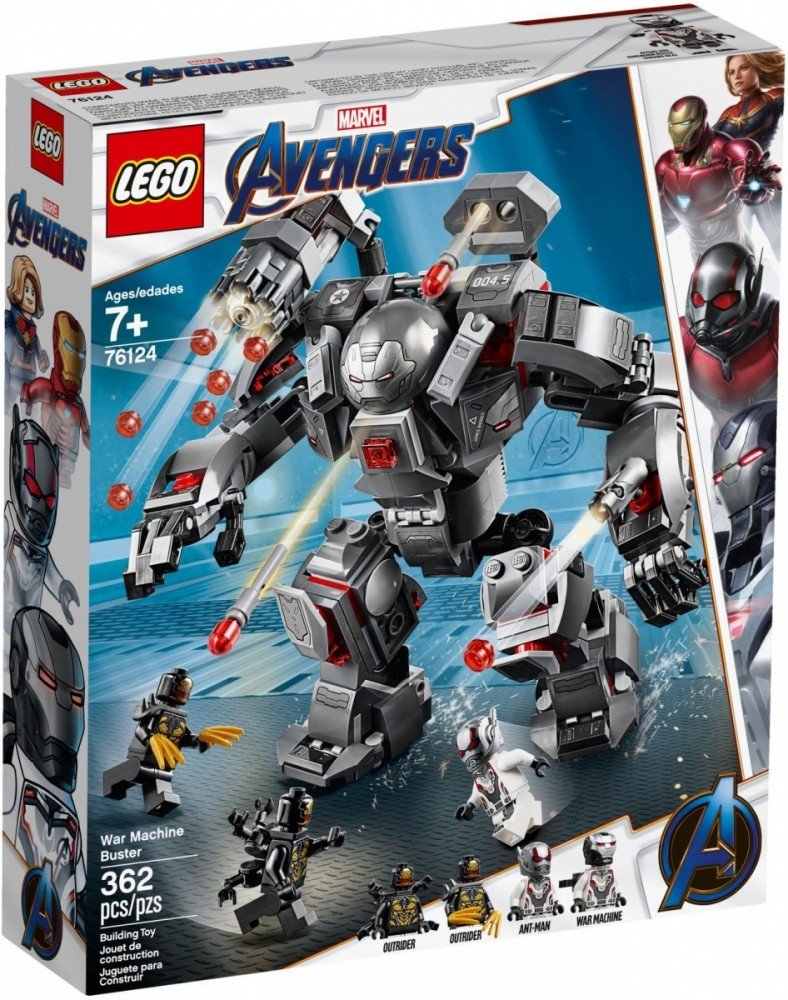 LEGO Super Heroes TBA - 76124 LEGO konstruktors