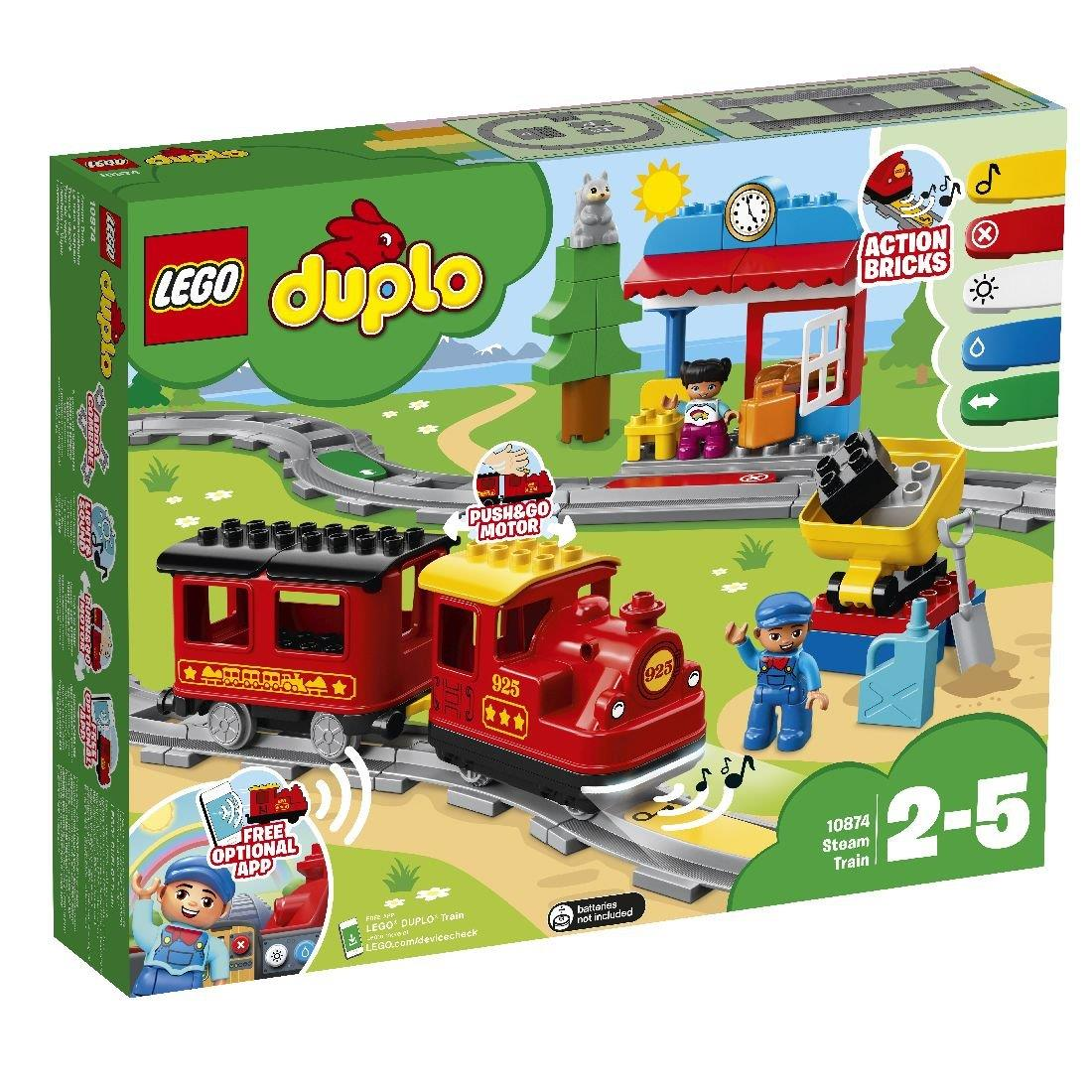 LEGO DUPLO Steam Railway Train - 10874 LEGO konstruktors