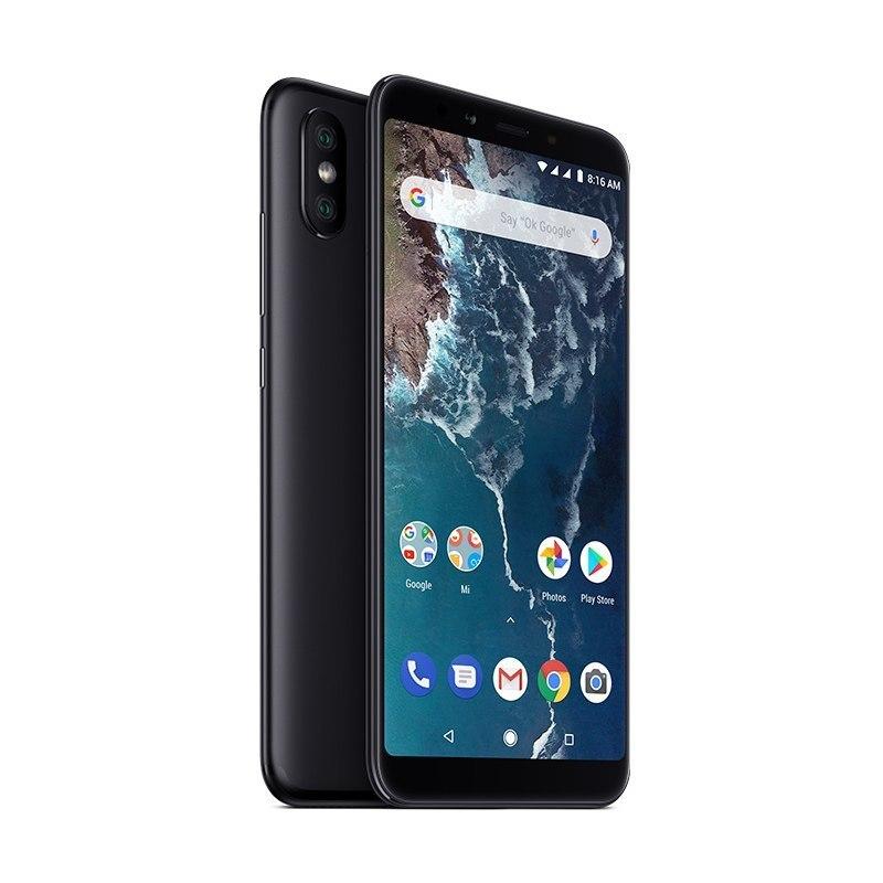 Xiaomi Mi A2 4GB/64GB black Mobilais Telefons