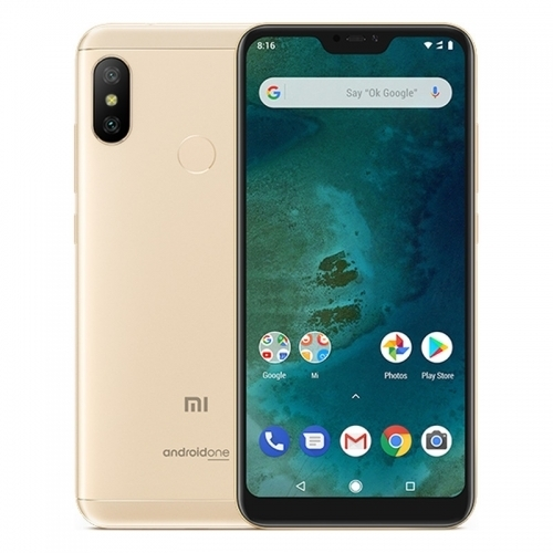 Xiaomi Mi A2 LITE 4GB/64GB gold Mobilais Telefons