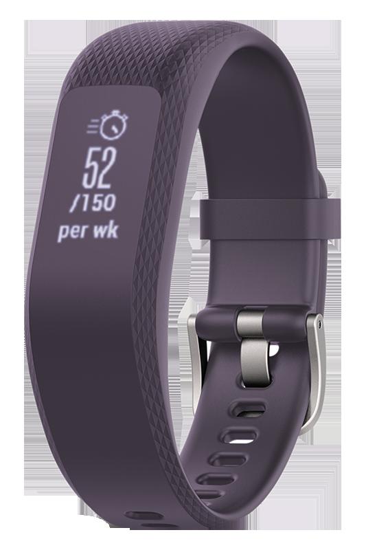 Garmin Vivosmart 3 purple, S/M sporta pulkstenis