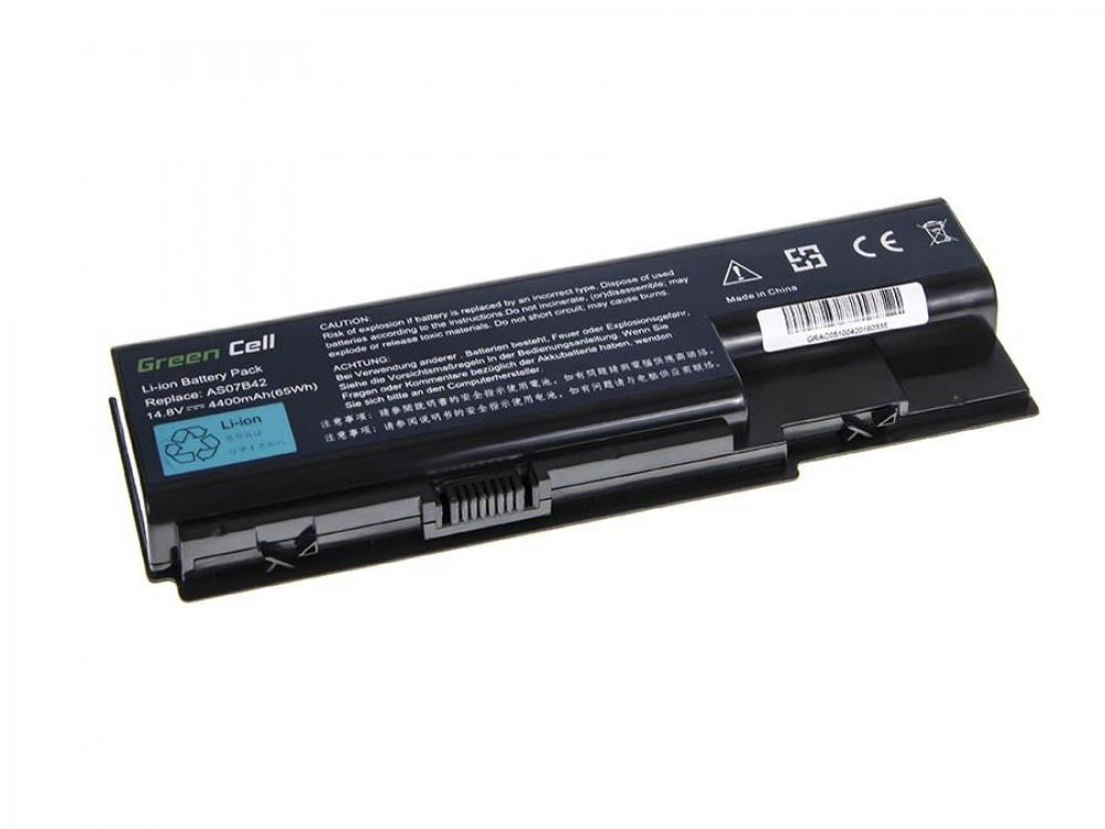 Green Cell for Acer Aspire 5930 7535 AS07B31 AS07B41 14.8V 8 cell (AC05) akumulators, baterija portatīvajiem datoriem