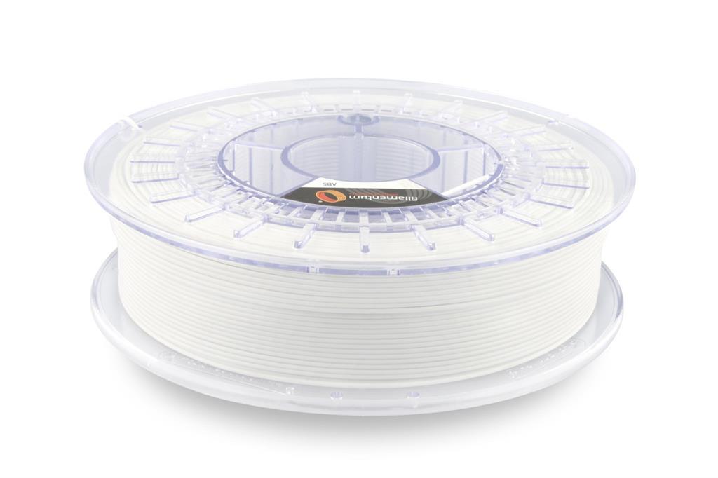Filament FILLAMENTUM / ABS / TRAFFIC WHITE RAL 9016 / 1,75 mm / 0,75 kg. 3D printēšanas materiāls