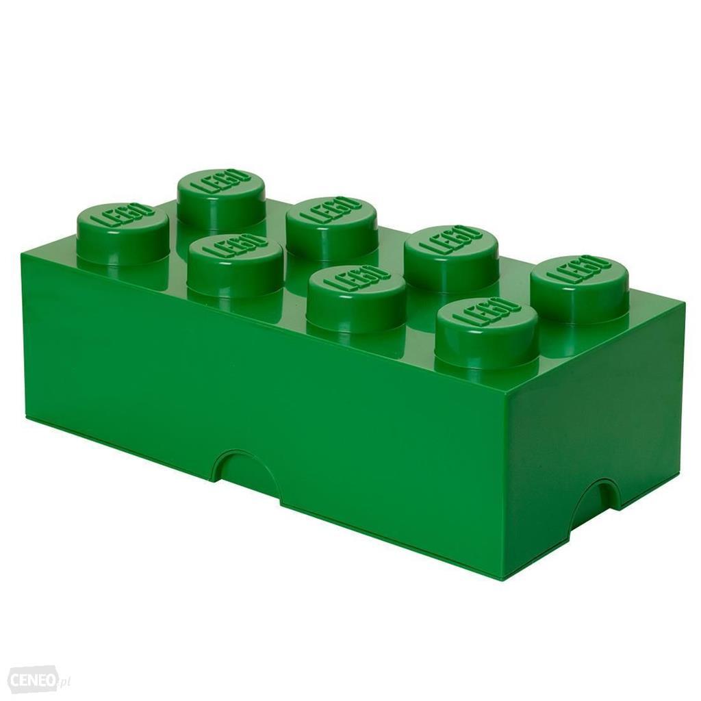 LEGO Storage Brick 8 40041734 Green LEGO konstruktors