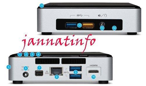 INTEL NUC i3-5010U, WiFi-AC