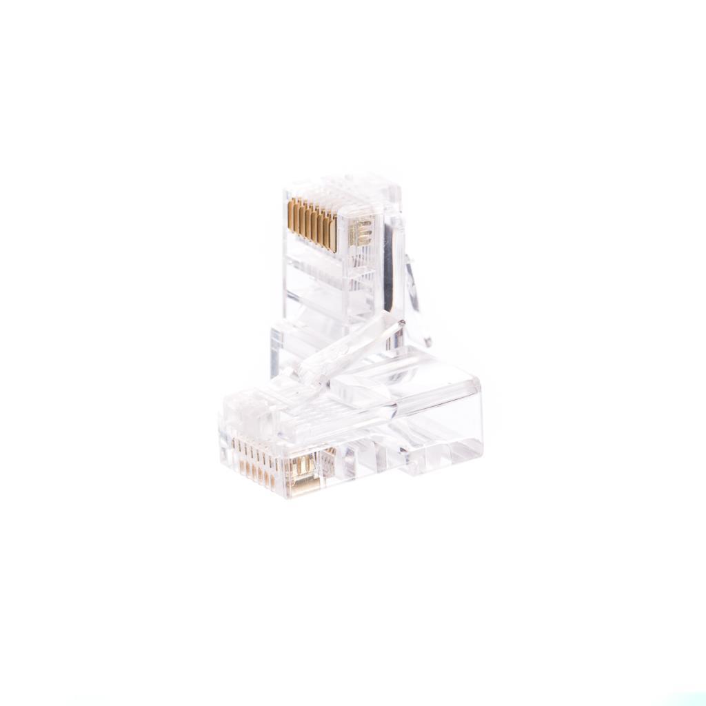 Netrack plug RJ45 8p8c, UTP for solid cable, cat. 5e (100 pcs.) Serveru aksesuāri