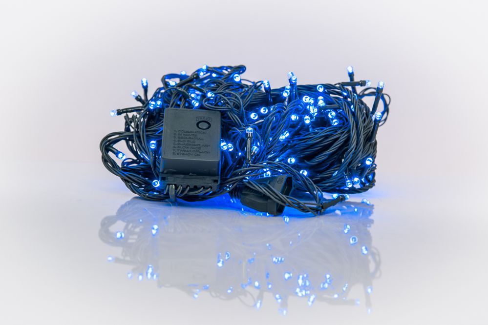 KL LED Christmas Lights RS-111 100LED 7m.  Blue 5205