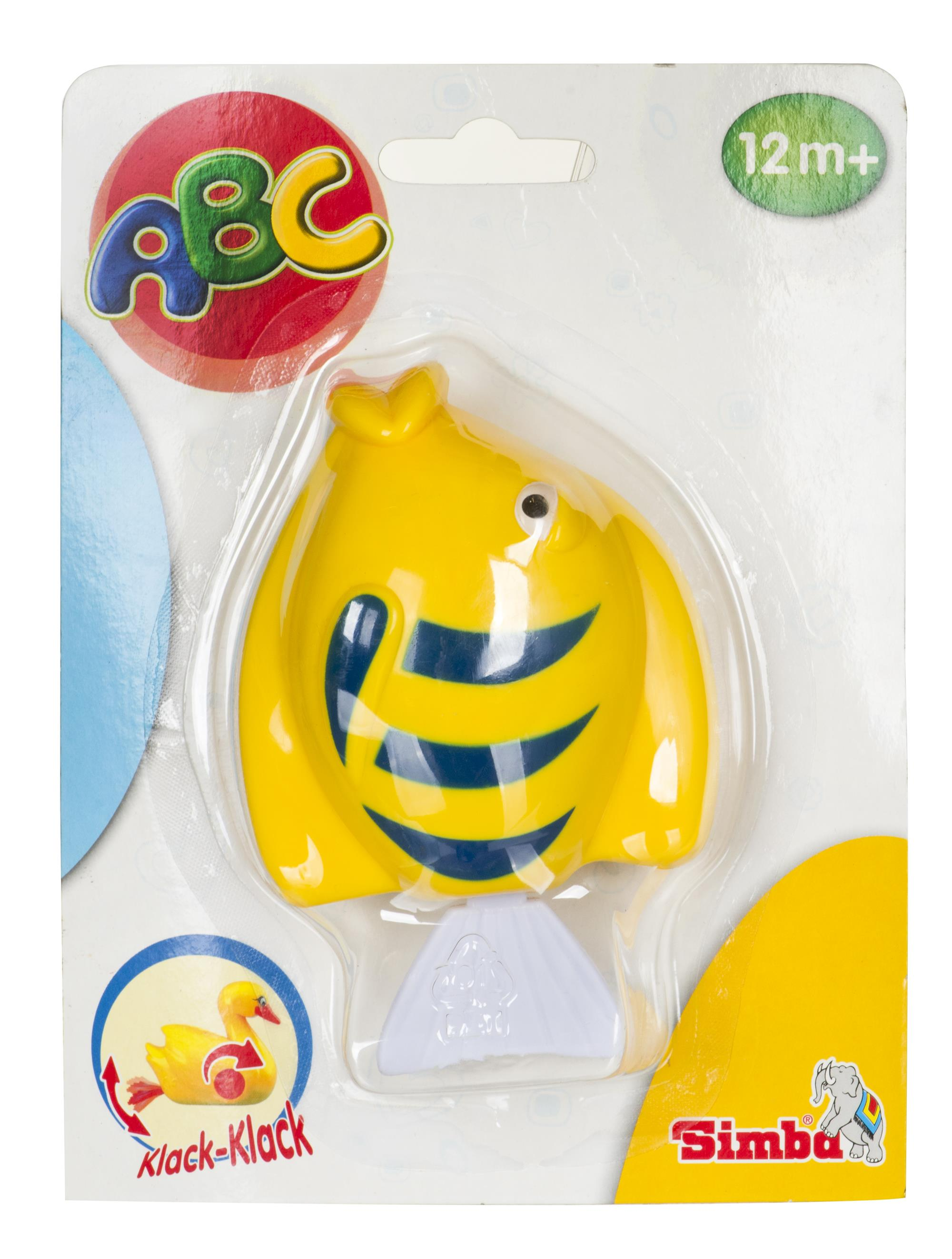 Water toys Simba ABC Plywajace zwierzatka (6 rodzajow) (From 12 months) DIZSIBDKA0001 aksesuāri bērniem