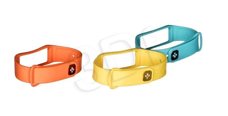 MyKronoz Strap set MyKronoz ZeFit 2 3 colors Colorama Sporta aksesuāri